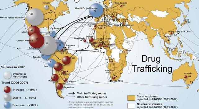 drug trafficking in the united states essays